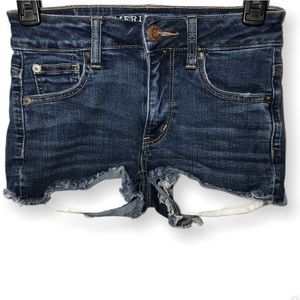 American Eagle High Rise Shortie Size 0